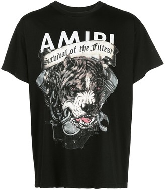 Amiri graphic print T-shirt