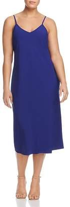 Marina Rinaldi Donata V-Neck Midi Dress
