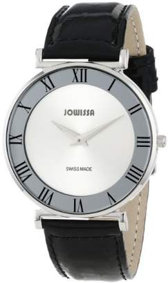 Jowissa Women's J2.004.L Roma 36 mm Dial Roman Numeral Leather Watch