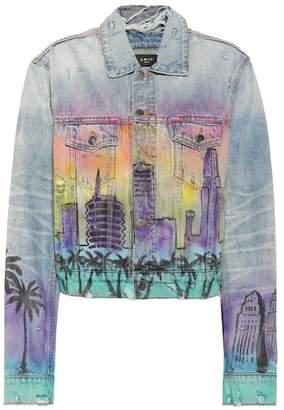 Amiri Hollywood denim jacket
