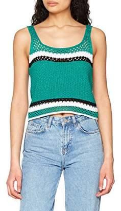 New Look Women's 5801798 Vest Top, (Green Pattern 39), (Size:52)