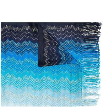 Missoni ombre stripe faded scarf