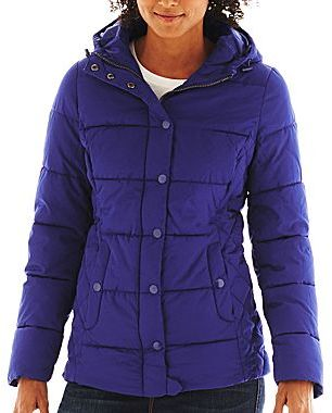 JCPenney St. John's Bay Puffer Jacket