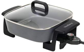 West Bend 72216 Extra-Deep 12-Inch Skillet w/Grease Tray