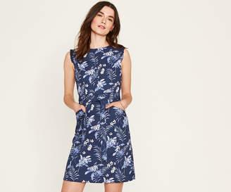 Oasis LONG PALM SHIFT DRESS