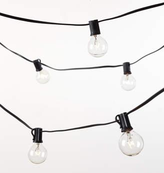 Rejuvenation 40 G12 Clear Bulb String Lights
