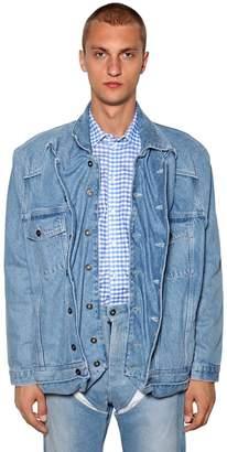 Y/Project Pop-Up Cotton Denim Jacket
