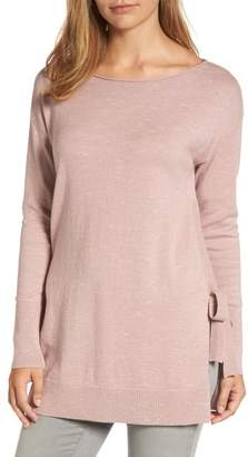 Caslon Side Tie Tunic Top (Regular & Petite)