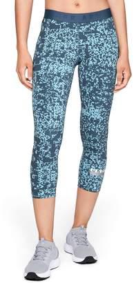 Under Armour Women's Favorite Midrise Printed Capri Leggings