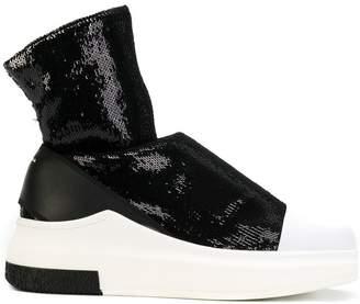 Cinzia Araia sequined sock sneakers