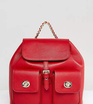 Marc B Red Tassel Backpack