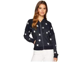Splendid Star Zip Sweatshirt