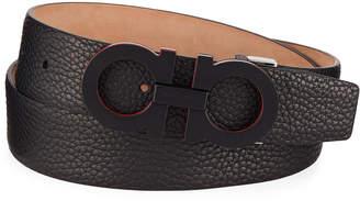 ec96d70bf12 ... at Bergdorf Goodman · Salvatore Ferragamo Men s Textured Leather  Gancini Belt