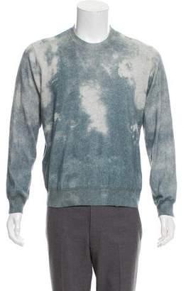 ATM Anthony Thomas Melillo Printed Crew Neck Sweater