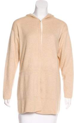 Malo Cashmere Hooded Cardigan