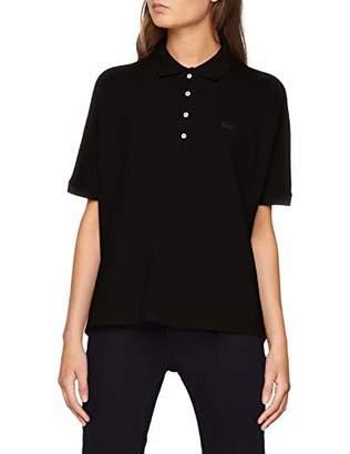 Lacoste Women's Pf0103 Polo Shirt, (Black 031)