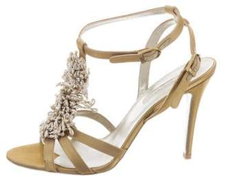 Stella McCartney Satin Ankle-Strap Sandals