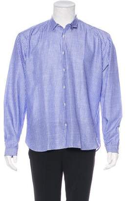 Oliver Spencer Striped Woven Shirt w/ Tags