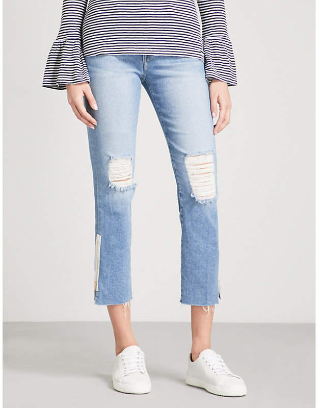 Le High Straight high-rise jeans