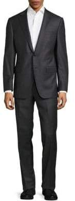 Saks Fifth Avenue Tall Fit Textured Wool Suit
