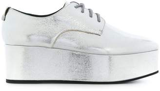Calvin Klein platform oxford shoes