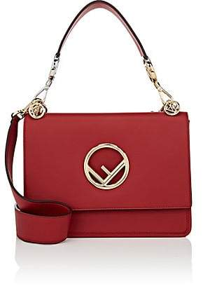 Fendi Women's Kan I Shoulder Bag - Red