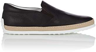 Tod's Men's Pantofola Leather Espadrille Sneakers