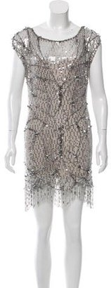 Jenny Packham Sequined Mini Dress $325 thestylecure.com