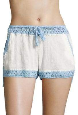 Anna Kosturova Swim Giza Laced Shorts