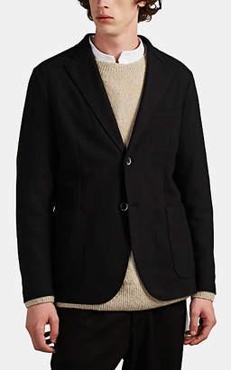 Barena Venezia Men's Unstructured Wool-Blend Two-Button Sportcoat - Black