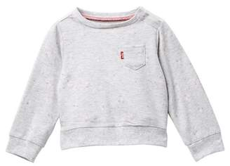 Levi's Crew Neck Knit Long Sleeve (Baby Girls)