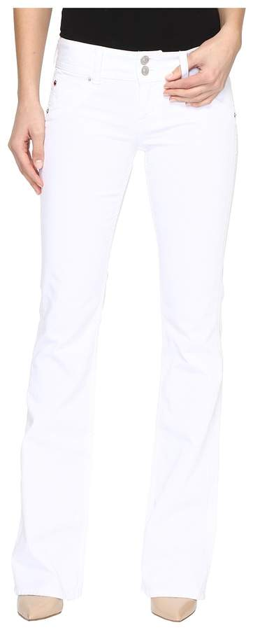 Hudson - Signature Boot in White Women's Jeans