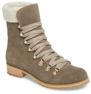 Sole Society Faux Shearling Trim Ada Boot