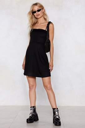 Nasty Gal Ruffle Me Up Mini Dress