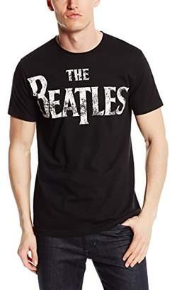 Bravado Men's The Beatles Vintage Logo T-Shirt