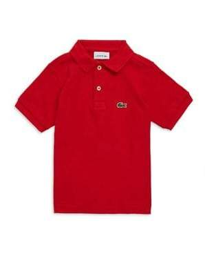 Lacoste Toddler's, Little Boy's& Boy's Short-Sleeve Polo
