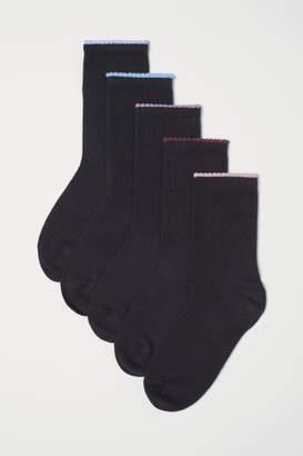 H&M 5-pack Socks - Black