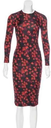 Givenchy Bodycon Midi Dress