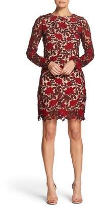 Dress the Population Jessica Embroidered Mini Dress