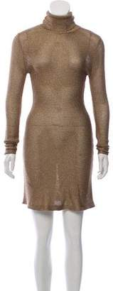 Ralph Lauren Metallic Mini Dress