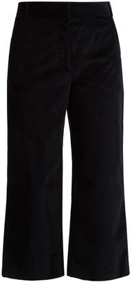 Max Mara Puzzle corduroy cropped trousers