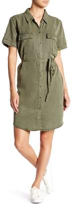 Vince Camuto Cargo Pocket Shirtdress