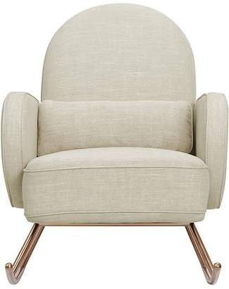 Pottery Barn Kids Nursery Works Compass Rocker, Light Grey, Unlimited Flat Rate Delivery