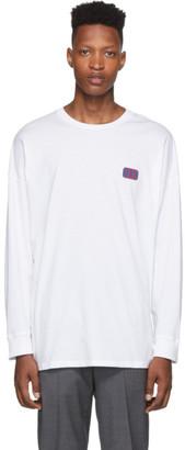 Opening Ceremony White Unisex OC Long Sleeve T-Shirt
