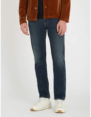 Etro Regular-fit straight stretch-denim jeans