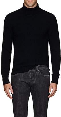 Eidos Men's Cashmere Loose-Fit Turtleneck Sweater