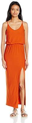 Derek Heart Junior's Bessie's Strappy Tank Maxi Dress with Front Slit