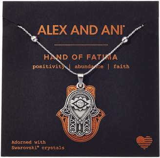 Alex and Ani Hand of Fatima III Necklace