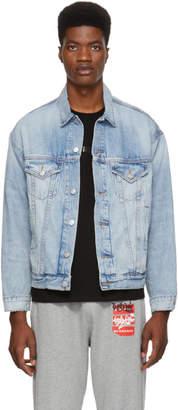 Adaptation Blue Denim Embroidered AOD Jacket