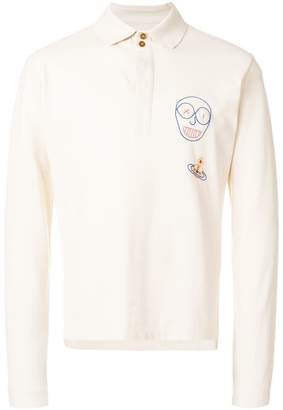 Vivienne Westwood embroidered polo shirt